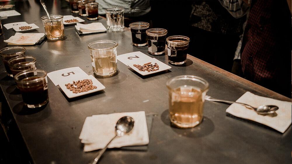 scheda degustazione caffè