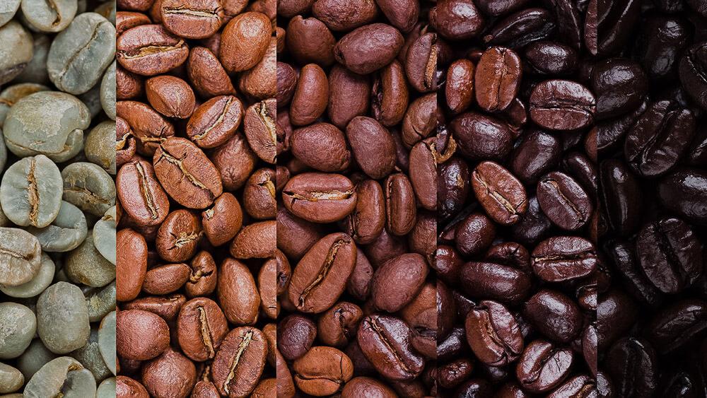 gradi di tostatura del caffè