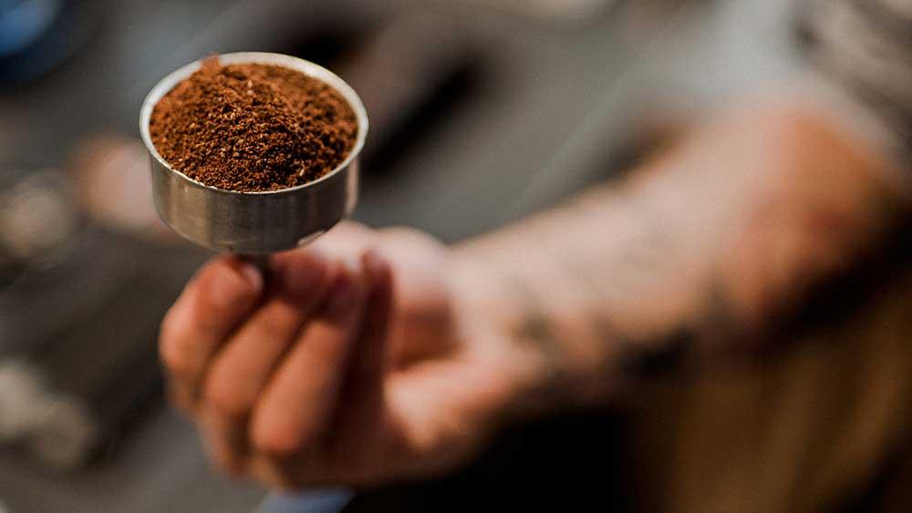 macinatura caffè per moka